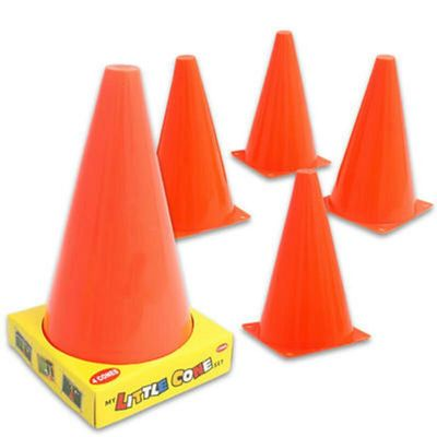 4 Pack Training Marker Cones,Children's training codes,marking cones,football cones,outdoor pretend play traffic cones.special needs physical therapy toys